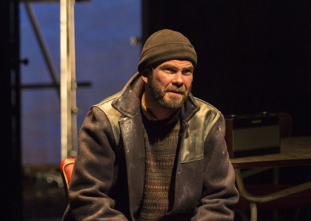 "Marty Rea in the Druid production of ""The Beauty Queen of Leenane"" by Martin McDonagh. Directed by Garry Hynes, the production runs through December 18, 2016, at Center Theatre Group/Mark Taper Forum. For tickets and information, please visit CenterTheatreGroup.org or call (213) 628-2772. Contact: CTG Publicity (213) 972-7376 / CTGMedia@ctgla.org. Photo by Craig Schwartz."
