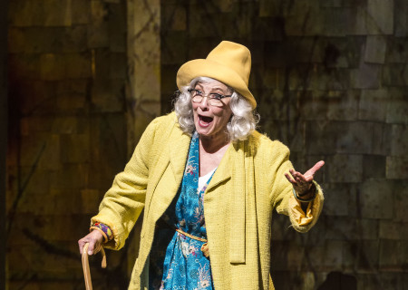 Betty Buckley in &quot;Grey Gardens&quot; The Musical. Directed by Michael Wilson, &quot;Grey Gardens&quot; plays at Center Theatre Group/Ahmanson Theatre through August 14, 2016. The book is by Doug Wright, music by Scott Frankel and lyrics by Michael Korie. &quot;Grey Gardens&quot; is based on the film by David Maysles, Albert Maysles, Ellen Hovde, Muffie Meyer and Susan Froemke. For tickets and information, please visit CenterTheatreGroup.org or call (213) 972-4400. Contact: CTGMedia@ctgla.org / (213) 972-7376.<br />