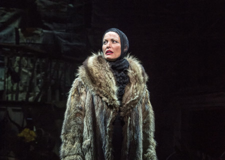 "Rachel York in ""Grey Gardens"" The Musical. Directed by Michael Wilson, ""Grey Gardens"" plays at Center Theatre Group/Ahmanson Theatre through August 14, 2016. The book is by Doug Wright, music by Scott Frankel and lyrics by Michael Korie. ""Grey Gardens"" is based on the film by David Maysles, Albert Maysles, Ellen Hovde, Muffie Meyer and Susan Froemke. For tickets and information, please visit CenterTheatreGroup.org or call (213) 972-4400. Contact: CTGMedia@ctgla.org / (213) 972-7376.<br />