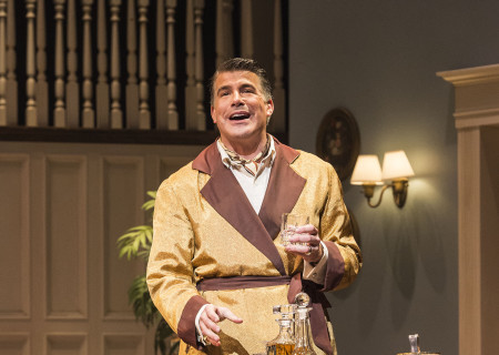 Bryan Batt in &quot;Grey Gardens&quot; The Musical. Directed by Michael Wilson, &quot;Grey Gardens&quot; plays at Center Theatre Group/Ahmanson Theatre through August 14, 2016. The book is by Doug Wright, music by Scott Frankel and lyrics by Michael Korie. &quot;Grey Gardens&quot; is based on the film by David Maysles, Albert Maysles, Ellen Hovde, Muffie Meyer and Susan Froemke. For tickets and information, please visit CenterTheatreGroup.org or call (213) 972-4400. Contact: CTGMedia@ctgla.org / (213) 972-7376.<br />