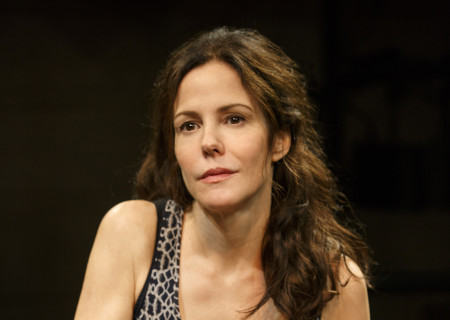"""Mary-Louise Parker in the Manhattan Theatre Club production of """"Heisenberg."""" Written by Simon Stephens and directed by Mark Brokaw, """"Heisenberg"""" plays June 28 through August 6, 2017, as part of Center Theatre Group's 50th anniversary season at the Mark Taper Forum. Tickets are currently available by season ticket membership only. For information and to charge season tickets by phone, call the Exclusive Season Ticket Hotline at (213) 972-4444. To purchase season memberships online, visit www.CenterTheatreGroup.org/Taper. Media Contact: CTGMedia@ctgla.org / (213) 972-7376. Photo by Joan Marcus."""