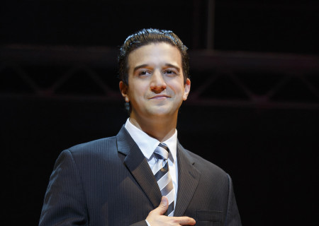 "Mark Ballas as Frankie Valli in ""Jersey Boys."" Ballas will appear in the Los Angeles engagement of the national tour of ""Jersey Boys,"" which plays May 16 through June 24, 2017, at Center Theatre Group/Ahmanson Theatre. For tickets and information, please visit CenterTheatreGroup.org or call (213) 972-4400. Media Contact: CTGMedia@CTGLA.org / (213) 972-7376. Photo by Joan Marcus."