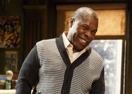 """Michael Potts in the Manhattan Theatre Club production of August Wilson's """"Jitney."""" Directed by Ruben Santiago-Hudson, """"Jitney"""" will play at the Mark Taper Forum November 22 through December 29, 2019. For tickets and information, please visit CenterTheatreGroup.org or call (213) 628-2772. Media Contact: CTGMedia@CTGLA.org / (213) 972-7376. Photo by Joan Marcus."""
