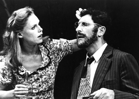 Trish Hawkins and Judd Hirsch in 'Talley's Folly' at the Taper.