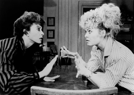 "Rita Moreno and Sally Struthers in ""The Odd Couple."""