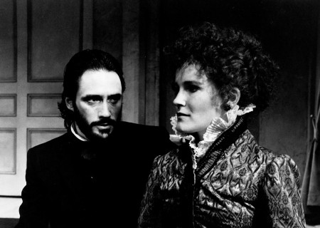 "George Deloy and Kate Mulgrew in ""Hedda Gabler."""