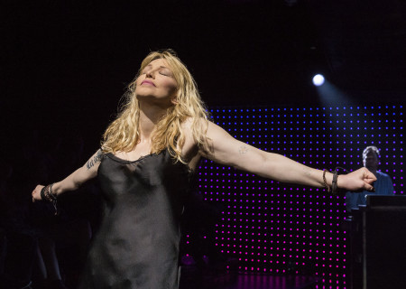 "Courtney Love, who is featured with Todd Almond in ""Kansas City Choir Boy&quot; at the Center Theatre Group/Kirk Douglas Theatre. With music and lyrics by Almond and directed by Kevin Newbury, ""Kansas City Choir Boy"" is produced by Beth Morrison Projects and is presented as a special DouglasPlus event October 15 through November 8, 2015. For tickets and information, please visit CenterTheatreGroup.org or call (213) 628-2772.<br />
