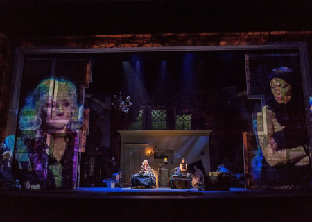 L-R: Betty Buckley and Rachel York in &quot;Grey Gardens&quot; The Musical. Directed by Michael Wilson, &quot;Grey Gardens&quot; plays at Center Theatre Group/Ahmanson Theatre through August 14, 2016. The book is by Doug Wright, music by Scott Frankel and lyrics by Michael Korie. &quot;Grey Gardens&quot; is based on the film by David Maysles, Albert Maysles, Ellen Hovde, Muffie Meyer and Susan Froemke. For tickets and information, please visit CenterTheatreGroup.org or call (213) 972-4400. Contact: CTGMedia@ctgla.org / (213) 972-7376.<br />