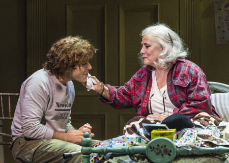 Josh Young and Betty Buckley in &quot;Grey Gardens&quot; The Musical. Directed by Michael Wilson, &quot;Grey Gardens&quot; plays at Center Theatre Group/Ahmanson Theatre through August 14, 2016. The book is by Doug Wright, music by Scott Frankel and lyrics by Michael Korie. &quot;Grey Gardens&quot; is based on the film by David Maysles, Albert Maysles, Ellen Hovde, Muffie Meyer and Susan Froemke. For tickets and information, please visit CenterTheatreGroup.org or call (213) 972-4400. Contact: CTGMedia@ctgla.org / (213) 972-7376.<br />