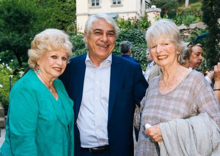 (L-R) Ruth Flinkman-Marandy, Ben Marandy, and Joni Benickes.