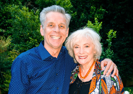 "Michael Ritchie and Betty Buckley at the ""Grey Gardens"" Artist Dinner."