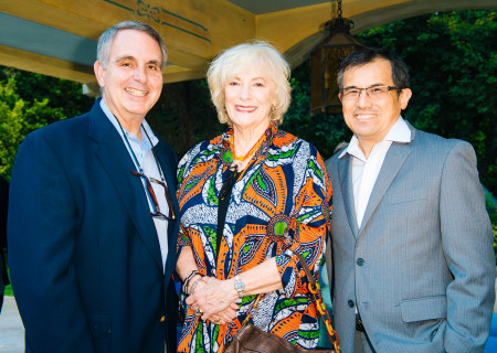 "Betty Buckley and guests at the ""Grey Gardens"" Artist Dinner."