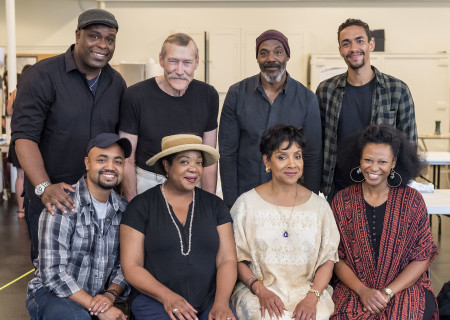 "L-R: top, cast members J. Bernard Calloway, James Carpenter, John Earl Jelks, Kyle Beltran; bottom, cast members Francois Battiste, Jacqueline Williams, Phylicia Rashad and Alana Arenas of ""Head of Passes"" by Tarell Alvin McCraney, directed by Tina Landau. ""Head of Passes"" plays September 13 through October 22, 2017, as part of Center Theatre Group's 50th anniversary season at the Mark Taper Forum. The opening is September 24. For tickets and information, please visit CenterTheatreGroup.org or call (213) 628-2772. Media Contact: CTGMedia@ctgla.org / (213) 972-7376. Photo by Craig Schwartz."