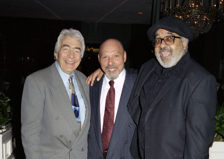 "L-R: Gordon Davidson, playwright August Wilson and ""Jitney"" and ""King Hedley II"" director Marion McClinton. Photo by Craig Schwartz."