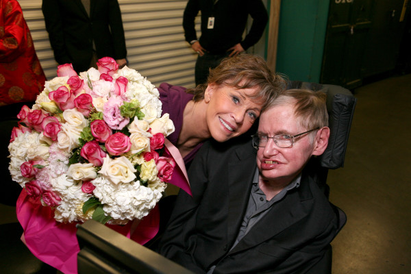 Stephen Hawking Visits the Ahmanson