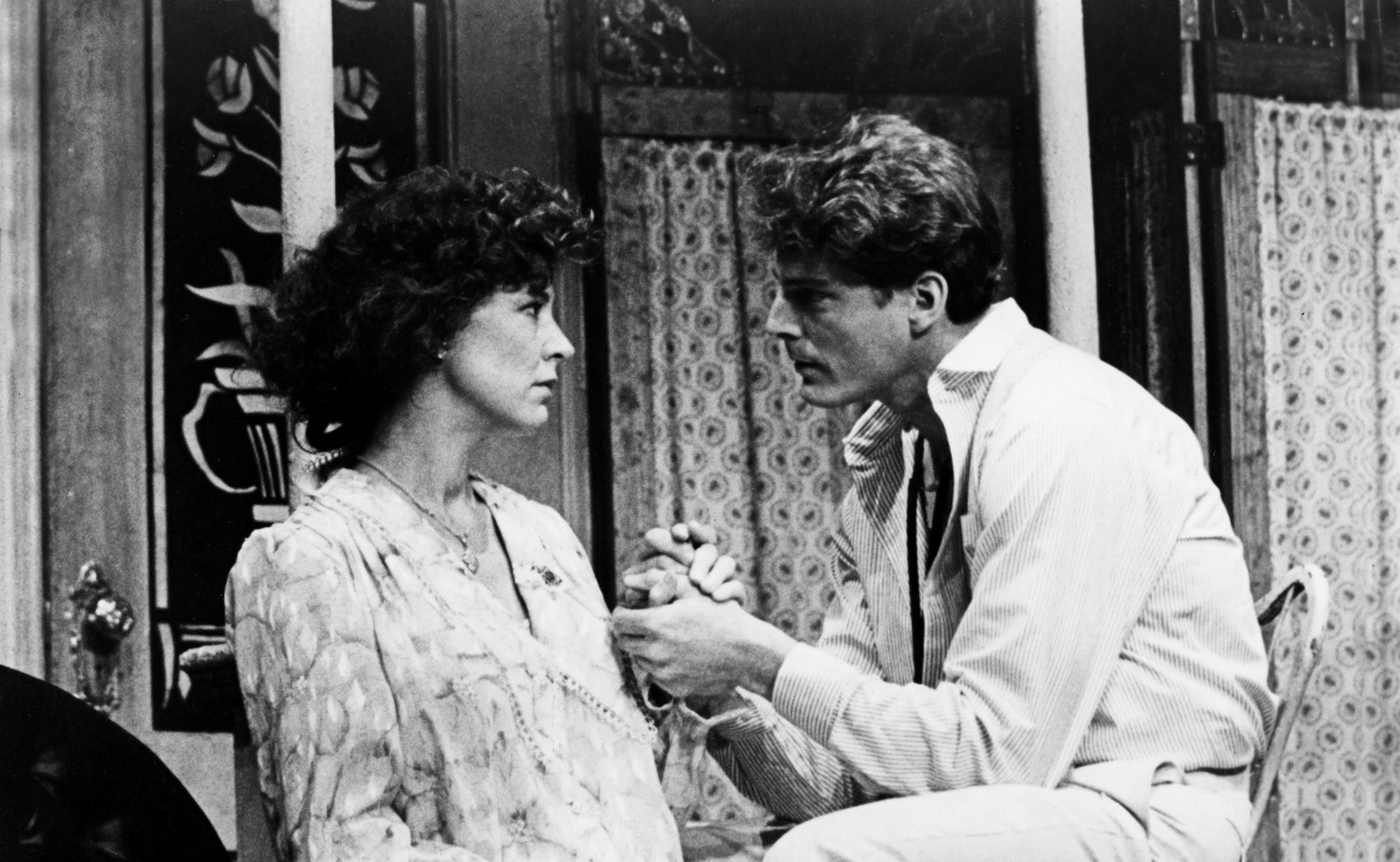 (L-R) Christine Lahti and Christopher Reeve star in 'Summer and Smoke' by Tennessee<br />