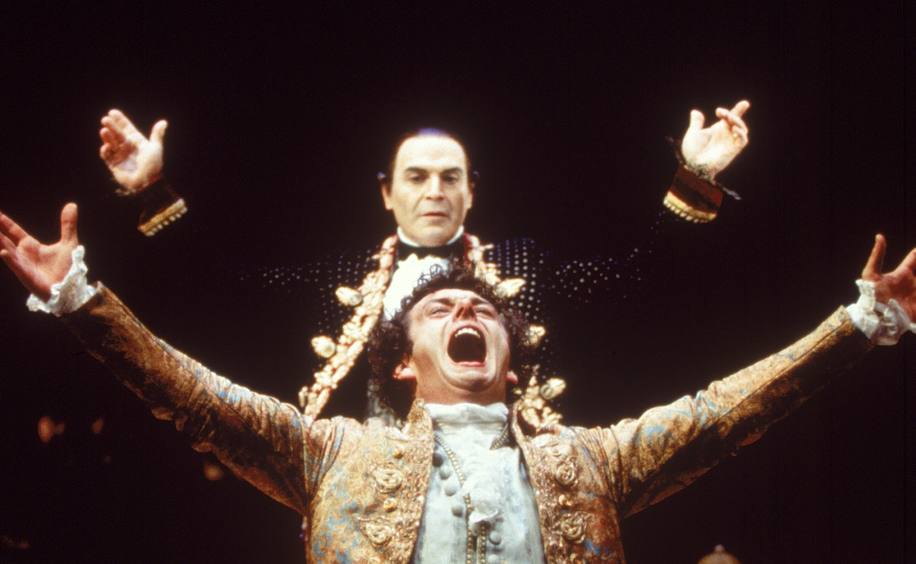 David Suchet and Michael Sheen in 'Amadeus.'