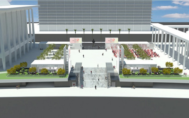 The Music Center Plaza Renovation