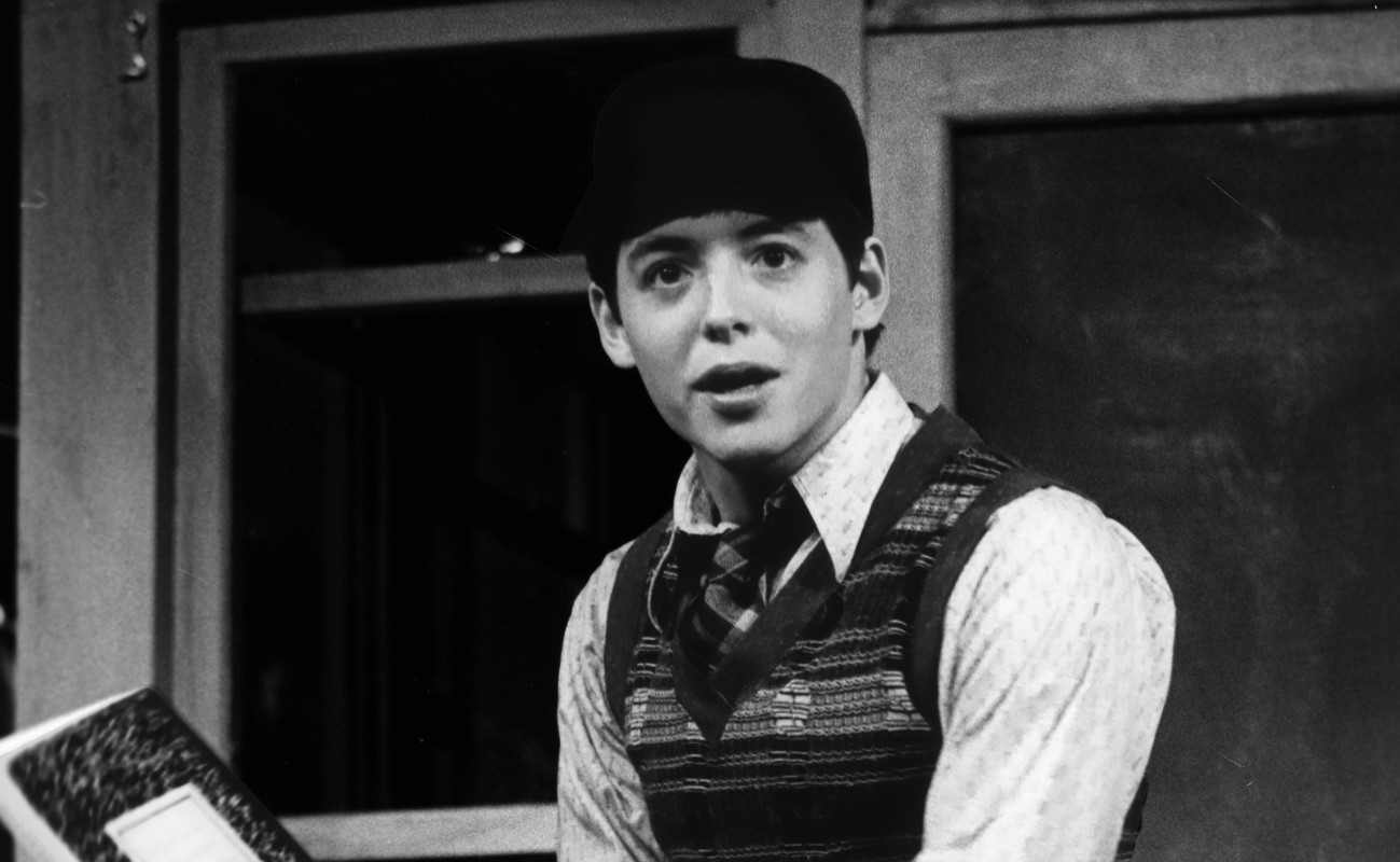 "Matthew Broderick in ""Brighton Beach Memoirs."""