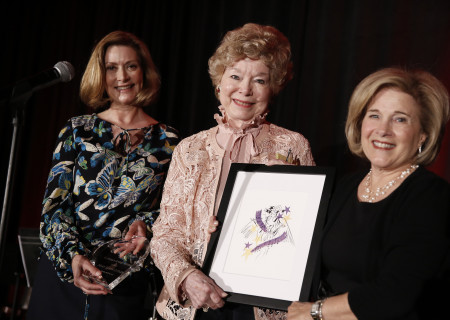 "Center Theatre Group Affiliates President Anne Bruner, ""Guardian Angel"" honoree Mary Levin Cutler, and event chair Marilyn Stambler."
