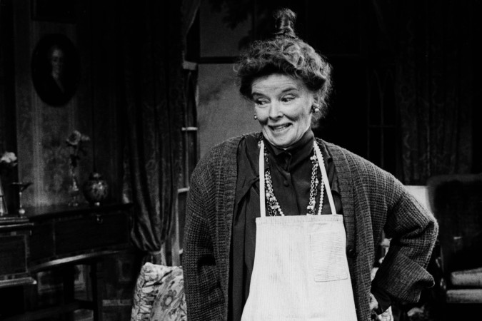 Katharine Hepburn in A Matter of Gravity at the Ahmanson