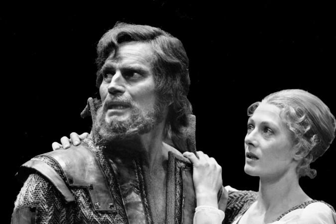 Charlton Heston and Vanessa Redgrave in Macbeth