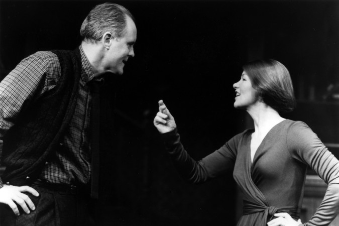 John Lithgow and Glenda Jackson in Who's Afraid of Virginia Woolf?