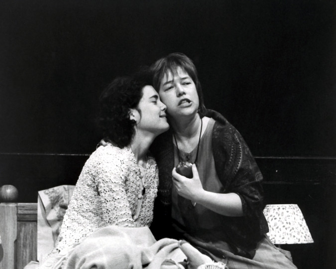 Elizabeth McGovern and Kathy Bates in Aunt Dan and Lemon