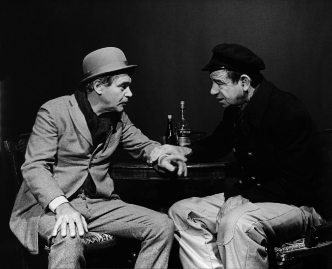 Jack Lemmon and Walter Matthau in Juno and the Paycock
