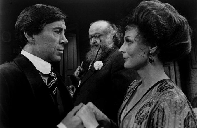 Maggie Smith, Brian Bedford, and Victor Buono in The Guardsman