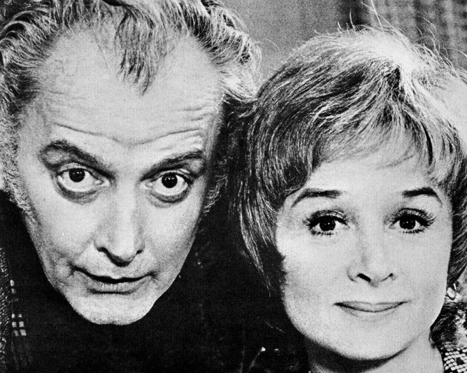 Art Carney and Barbara Barrie in The Prisoner of Second Avenue