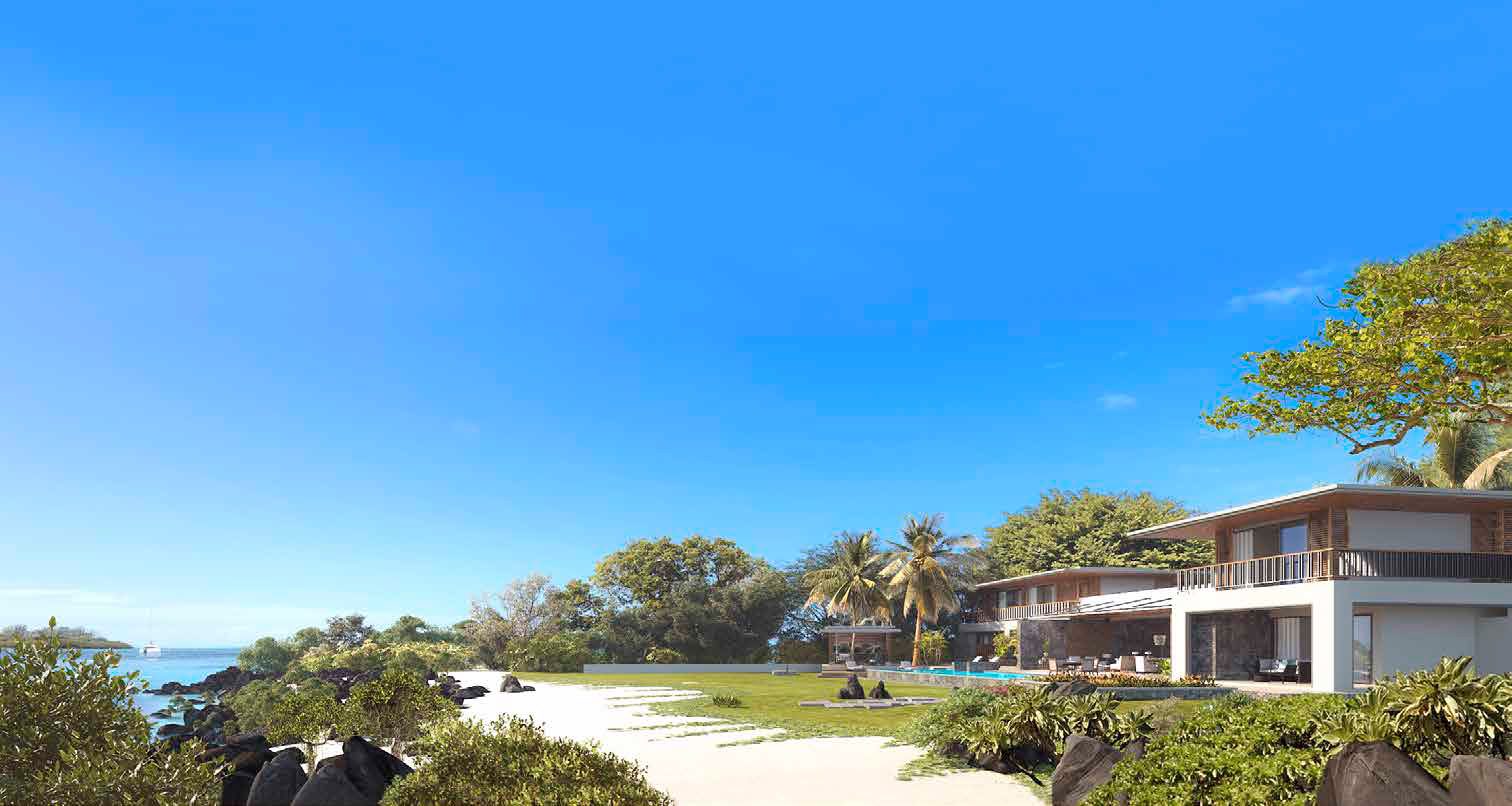 villa premium panomaric view