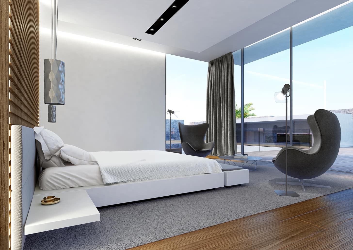 les demeures bedroom