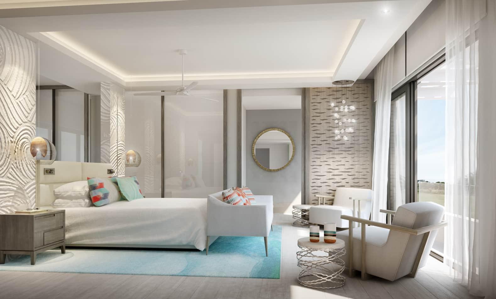 villa pearl bedroom