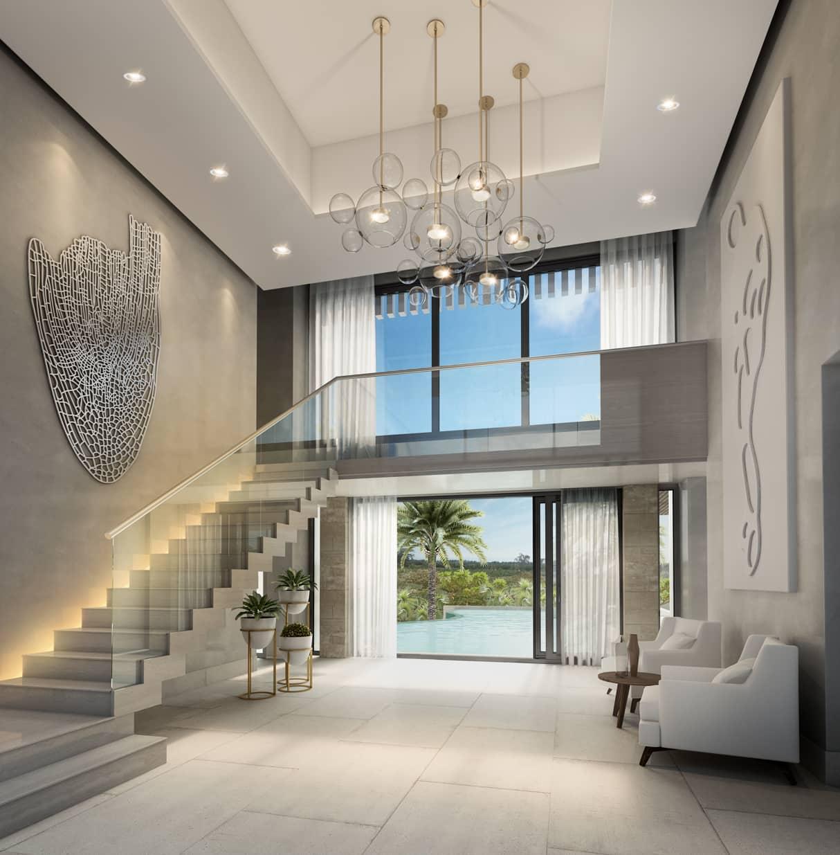 villa pearl interieur