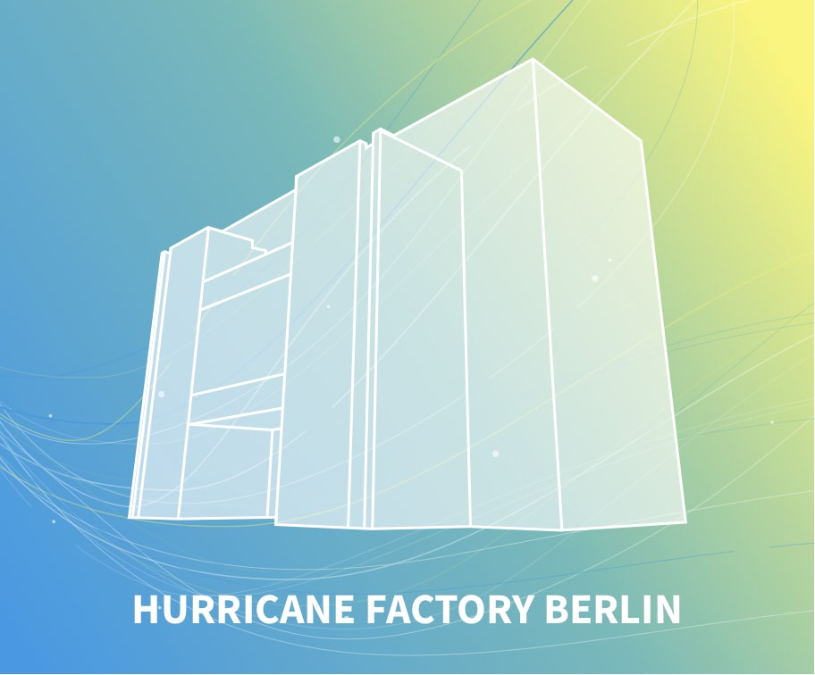 Hurricane factory berlin windtunnel
