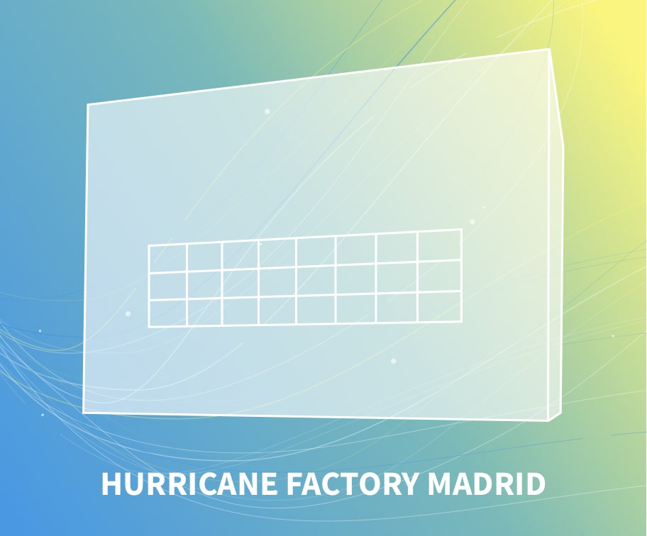 Hurricane factory madrid windtunnel