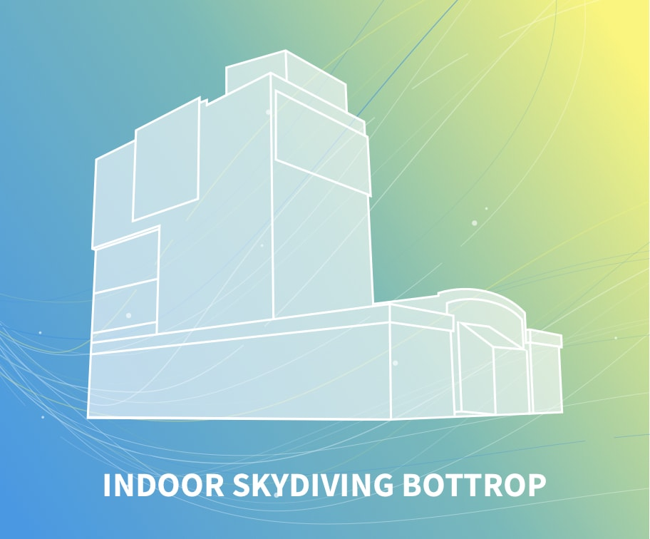 Indoor skydiving bottrop windtunnel