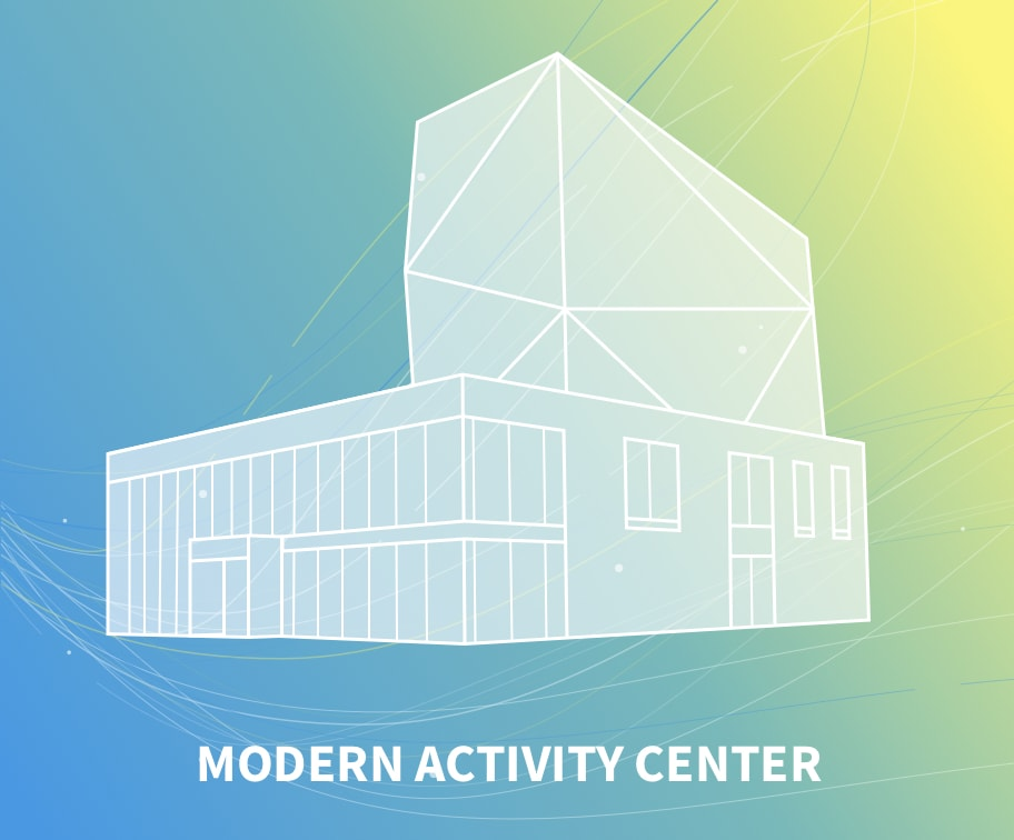 Modern activity center windtunnel