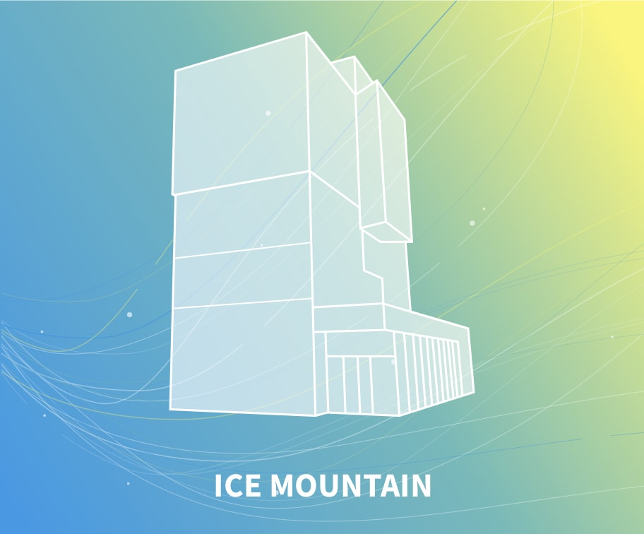 Ice mountain indoor skydiving windtunnel