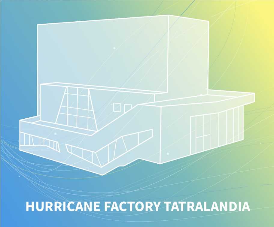 Hurricane factory tatralandia windtunnel