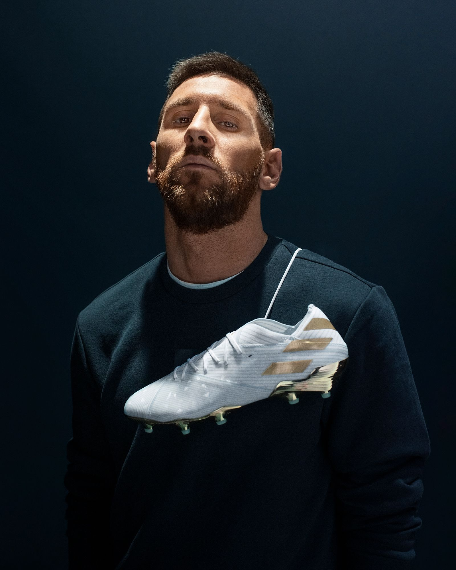 Messi 15 years crystal pack