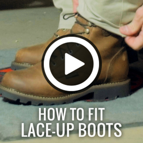 How To Fit Lace-Up Boots