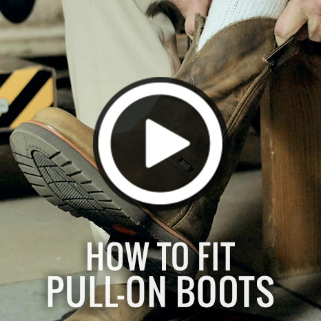 How To Fit Pull-On Boots