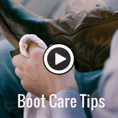 Boot care tips