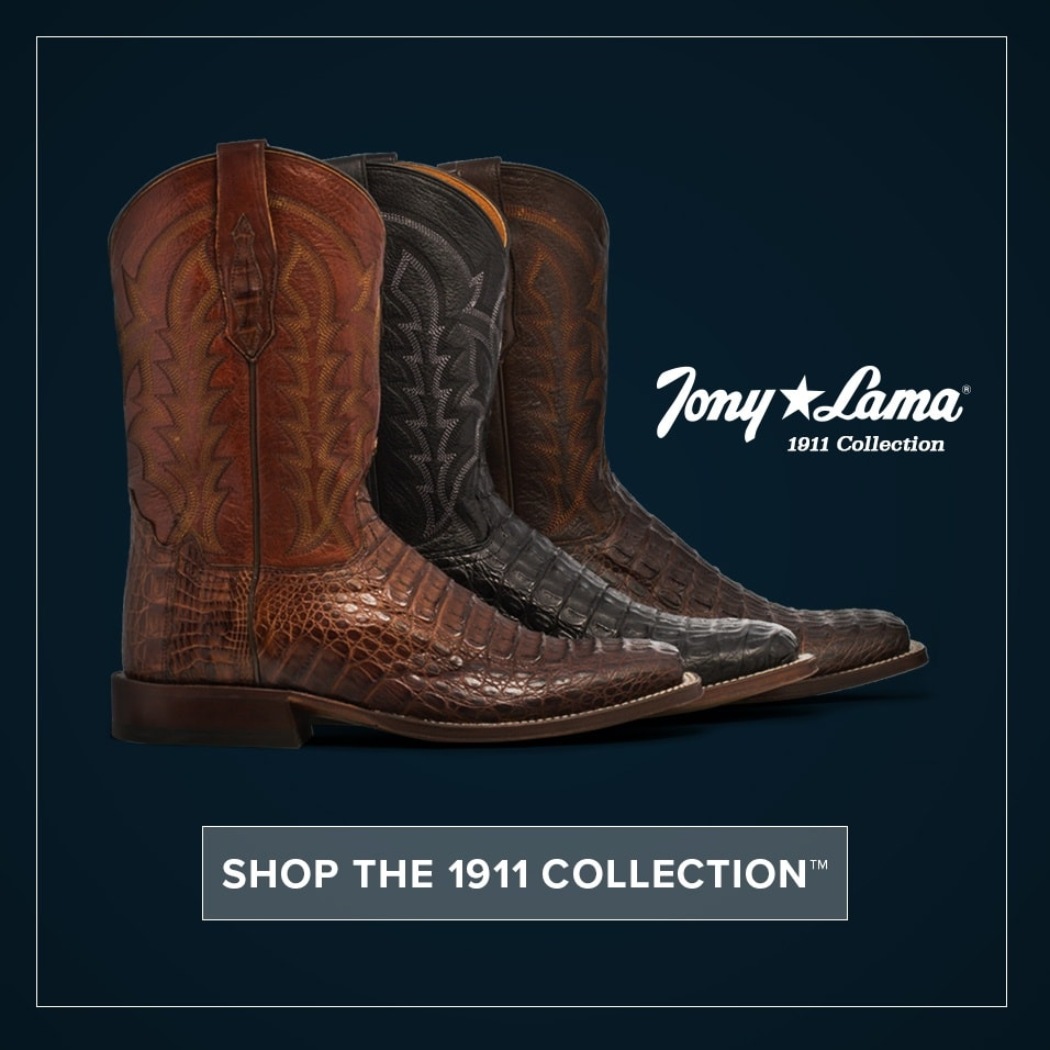1adc56d1f50 Tony Lama Boots | Handcrafted Since 1911 | Official Site