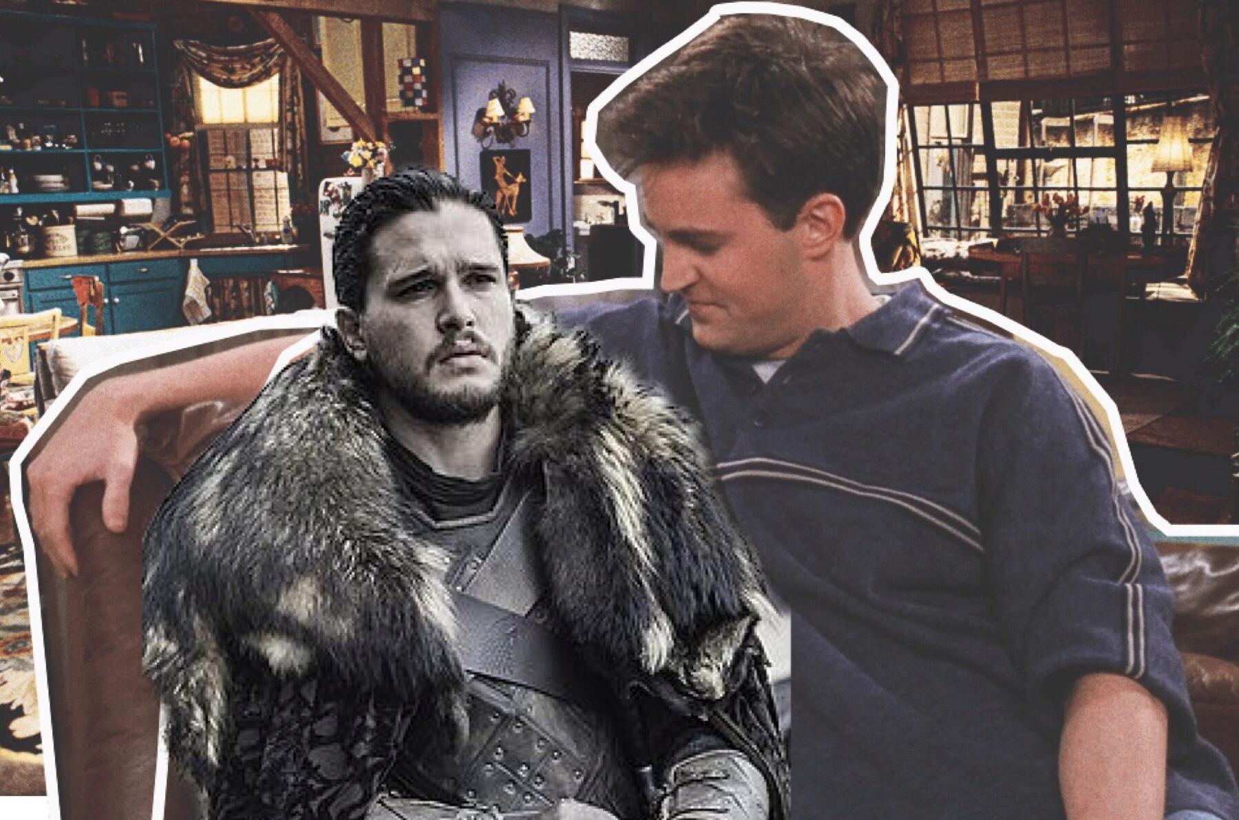 Вот это поворот: кто из актеров «Игры престолов» подкатывал к Чендлеру из «Друзей»?