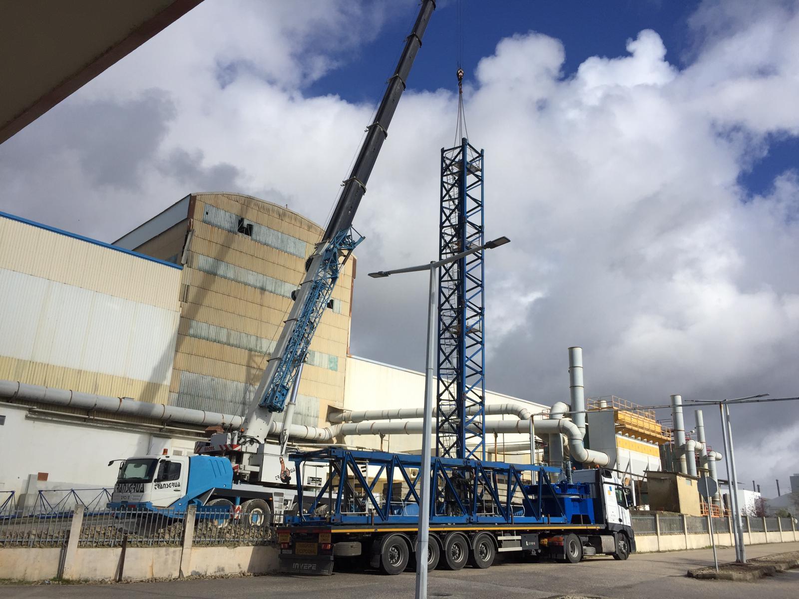 Reabilitação de Fachadas e Cobertura de Edifício Fabril 3000m2