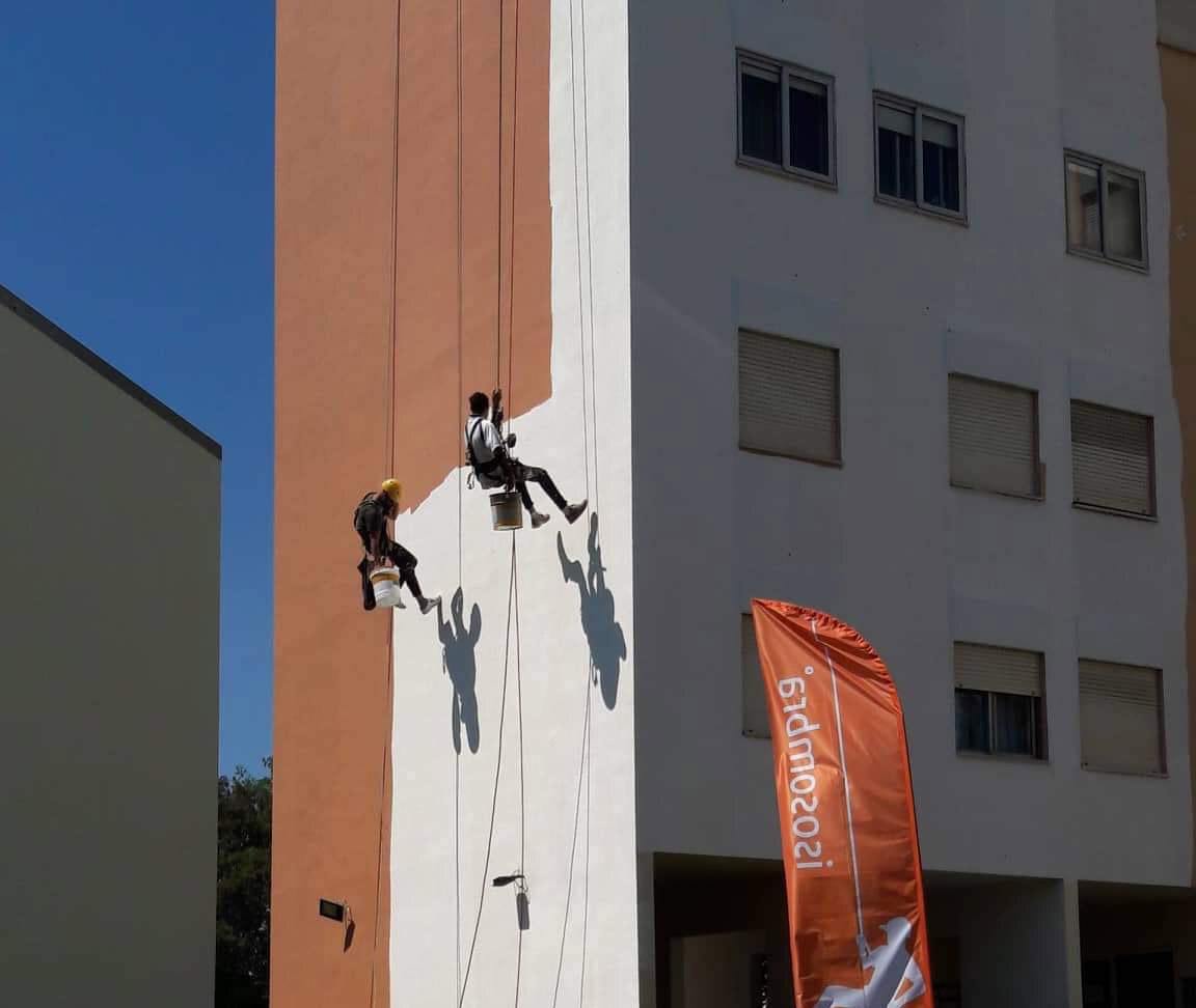 Reabilitação de Edifício – Trabalhos por Cordas (Alpinistas)