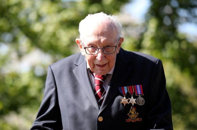 Песня 99-летнего ветерана возглавила чарт iTunes в Великобритании